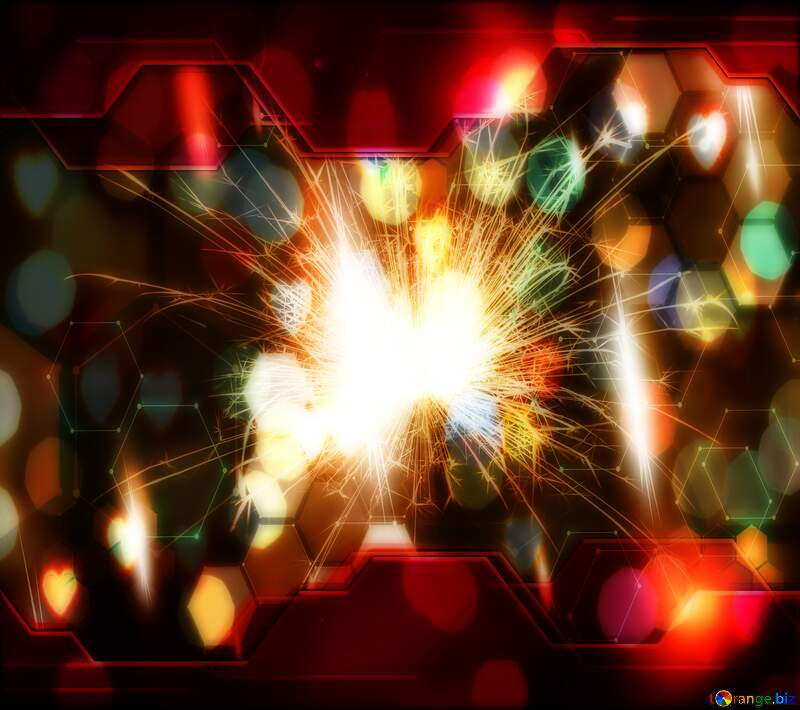 Bright sparks Hi-tech Technology love  background №25682