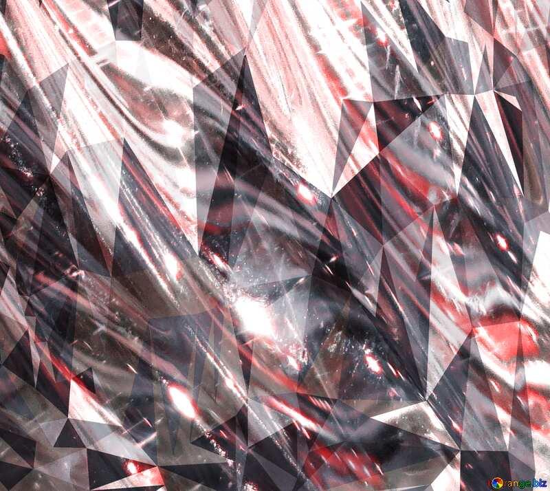 Glass polygonal background №18044