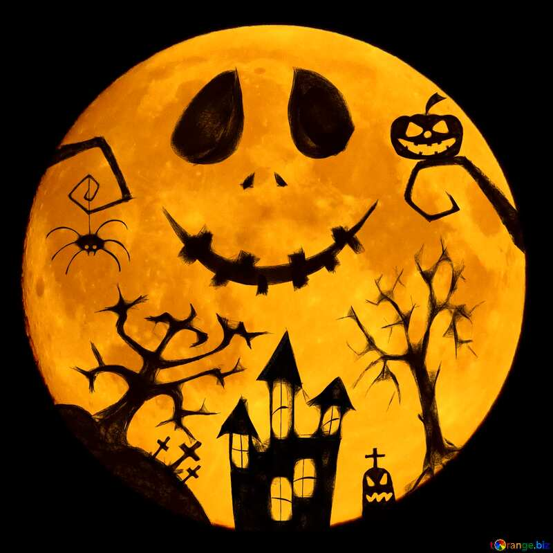 Halloween picture colors vivid №40468
