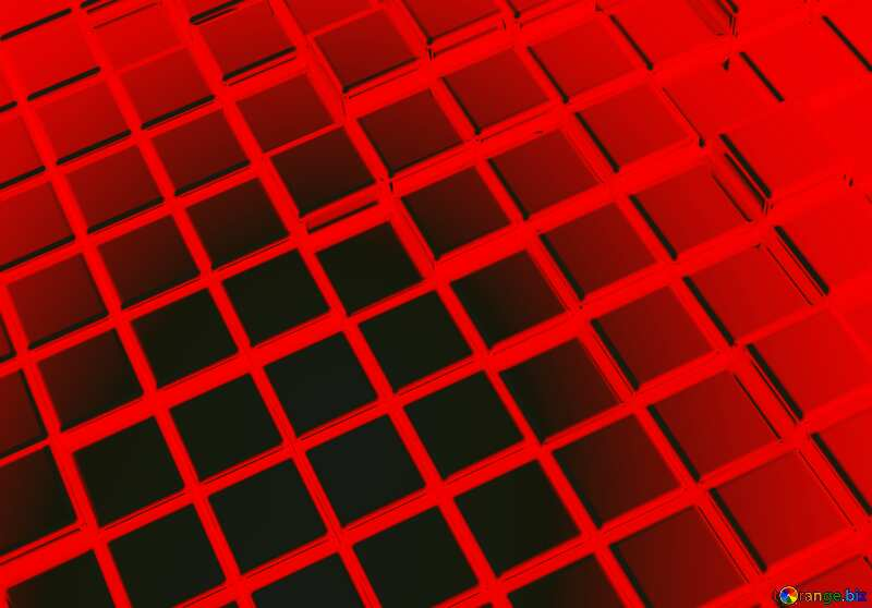3d abstract red tiles background №54498