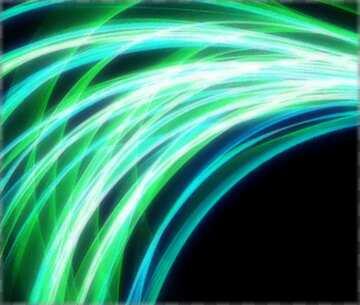 Die Wirkung von Licht. Die Wirkung von Bunt strahlend blauen. Bruchstück.