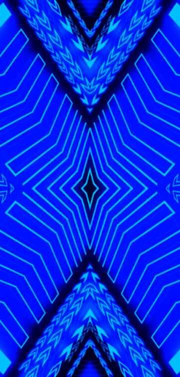 The effect of the hard dark. The effect of stained bright blue. Fragment. Pattern.