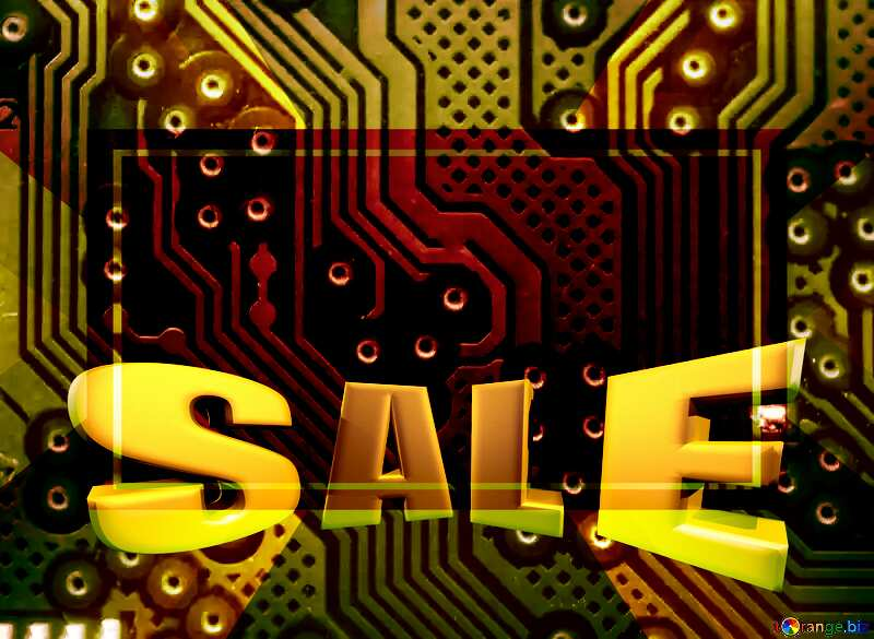 circuit electronic board lines pattern Sales discount promotion Gold №51568