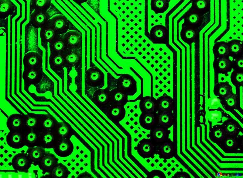 circuit electronic board texture №51568