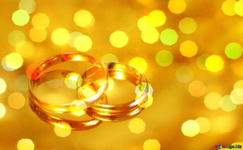 Engagement  . gold ring. bkeh lights  background №7143