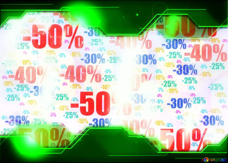 Store discount background. Green Technology business concept №51545