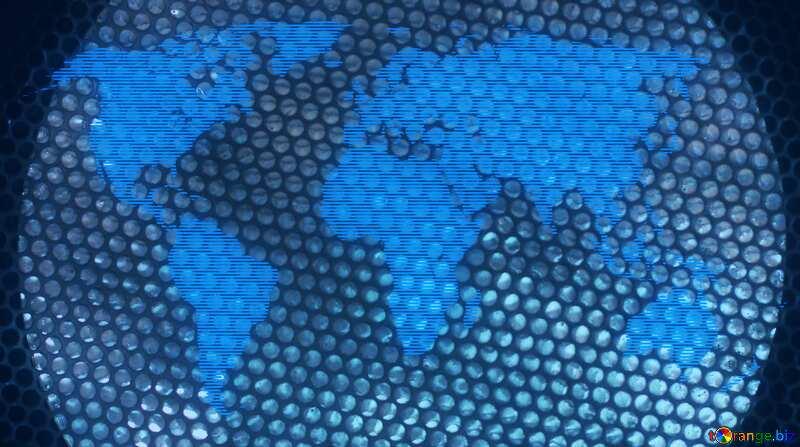 Mesh World Map Patterns №42289