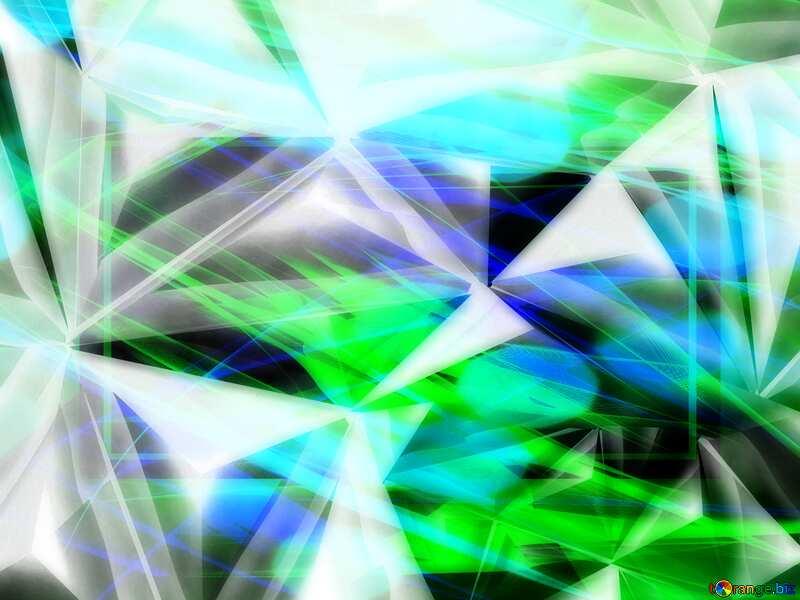 Polygon fractal template banner fragment background №51586
