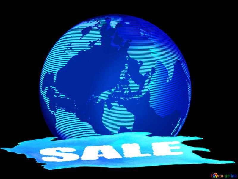 Modern global world earth concept planet symbol Sale Background №54515