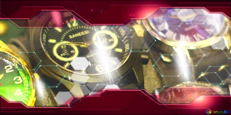 watches Red Information Technology Hi-tech business concept Elements №53128