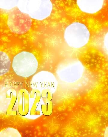 El efecto de la luz. Colores vivos. Fragmento. Happy New Year 2020.