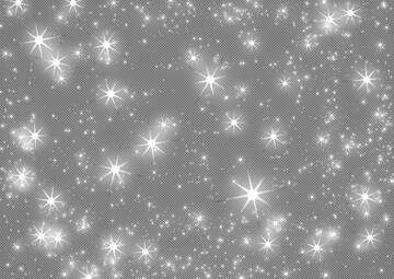 Abstract holiday background with clusters of bright huge gray blurred twinkling stars  night star pattern