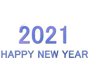 Shiny happy new year 2020 background blue bottom
