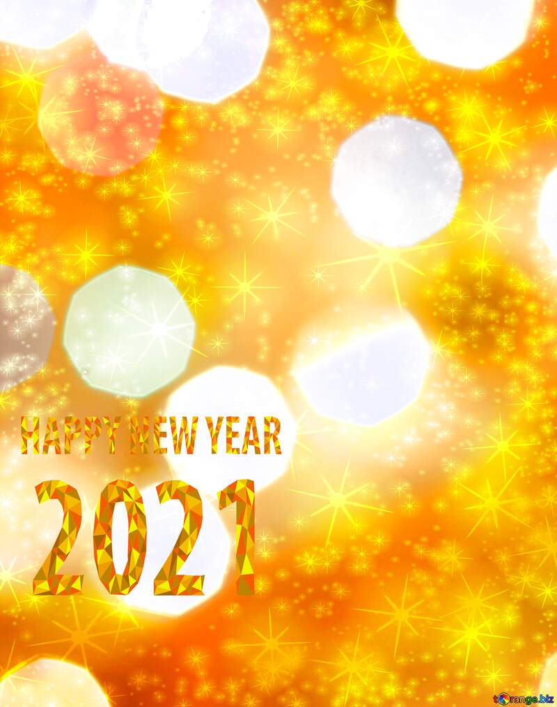 Christmas holiday vertical happy new year 2021 background №24617