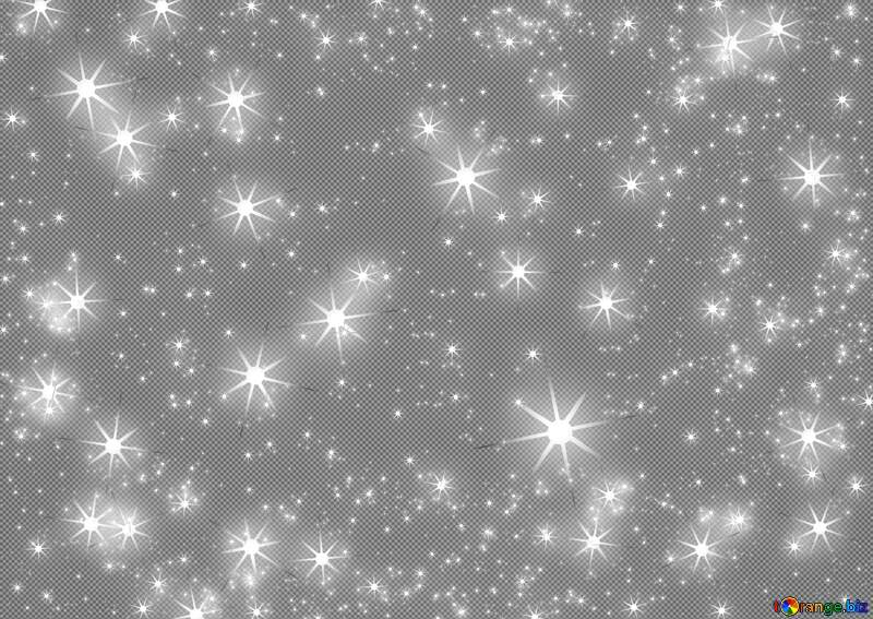 Abstract holiday background with clusters of bright huge gray blurred twinkling stars  night star pattern №54495