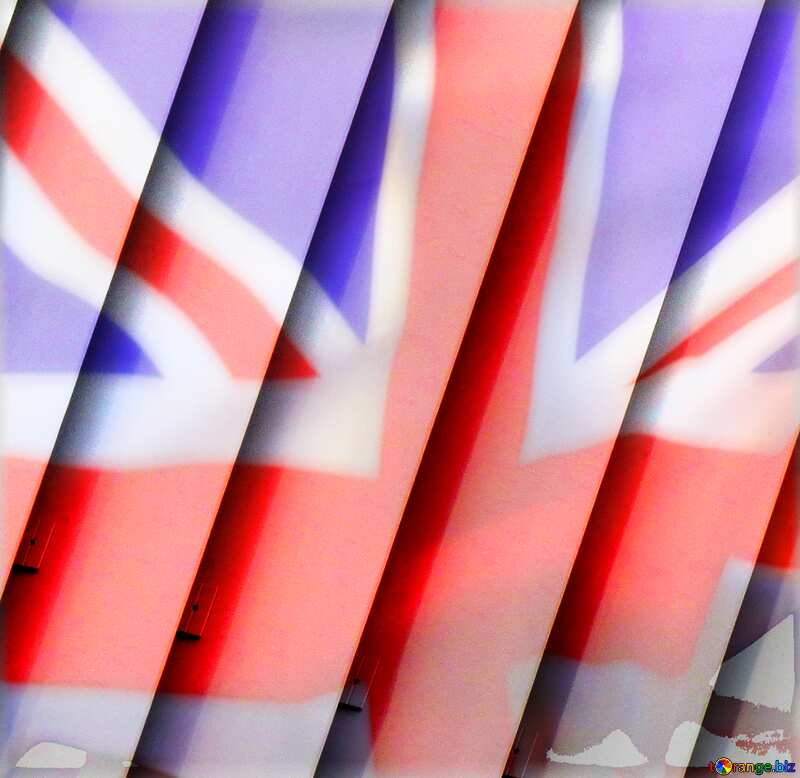 blinds texture different thickness lines United Kingdom flag №50773