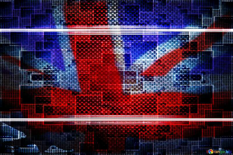 carbon gold frame United Kingdom flag №54465