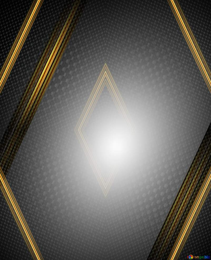 carbon gold geometry frame №54465