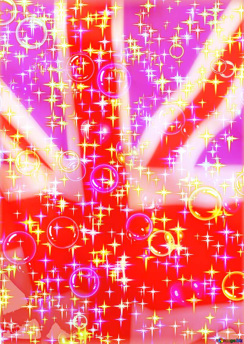 A celebratory Gala background United Kingdom flag №39935