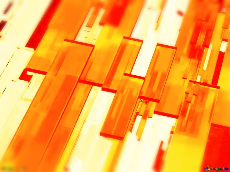 Creative 3d abstract squares lines modern red background Futuristic Blurring Creative orange №54512