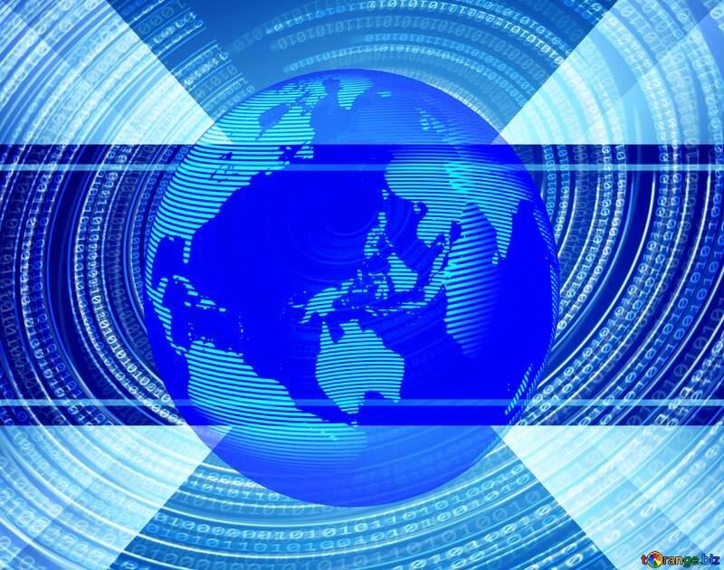 Digital world template №49672