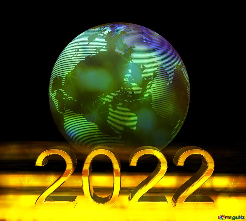 2022 3d world earth planet symbol global  concept background stars №54515