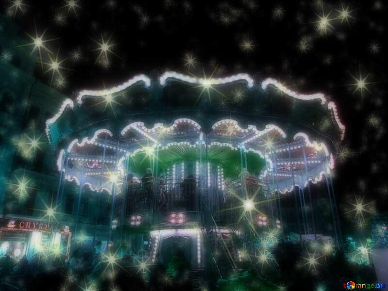 Christmas Carousel merry go round №54098