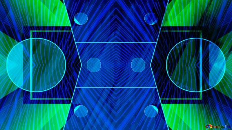 Orange Business layout design pattern Lights Lines Futuristic Geometric Blue 3D №51526