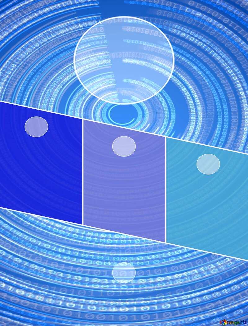 Digital Futuristic template №49672
