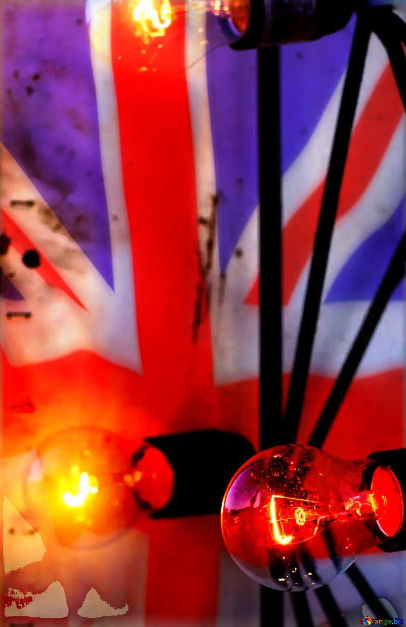 Incandescent light United Kingdom flag №48317