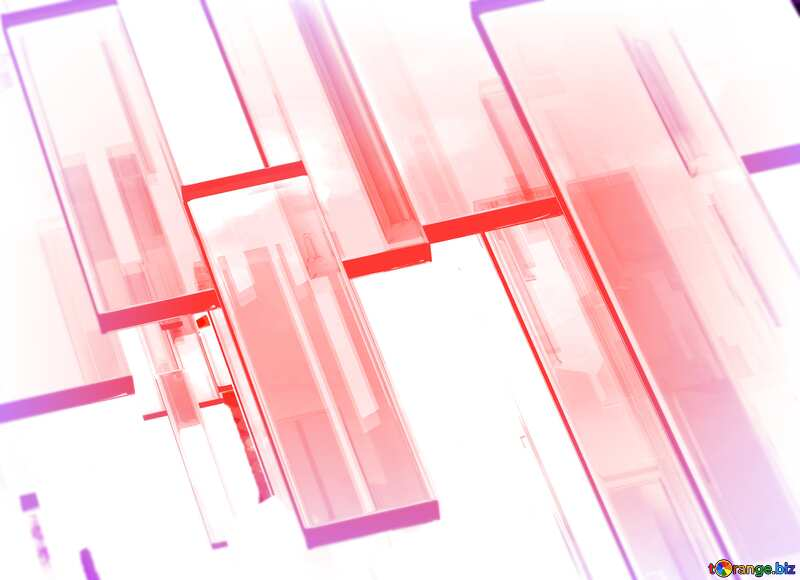 Creative 3d abstract squares lines modern light red background №54512
