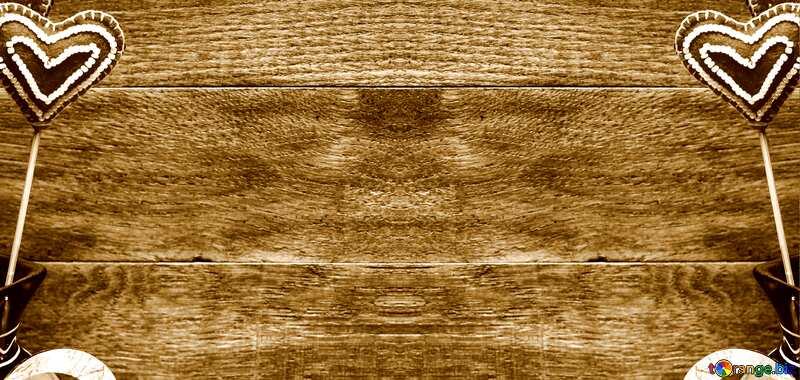 Love wooden  background №49216