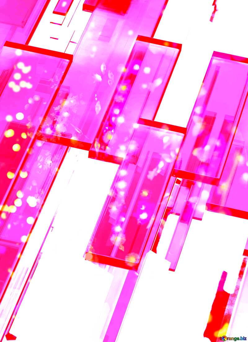 Creative 3d abstract squares lines modern lights background №54512