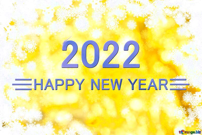 New year golden background Happy New Year 2021 №40719