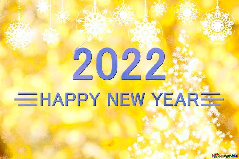 New year golden background Happy New Year 2021 №40684