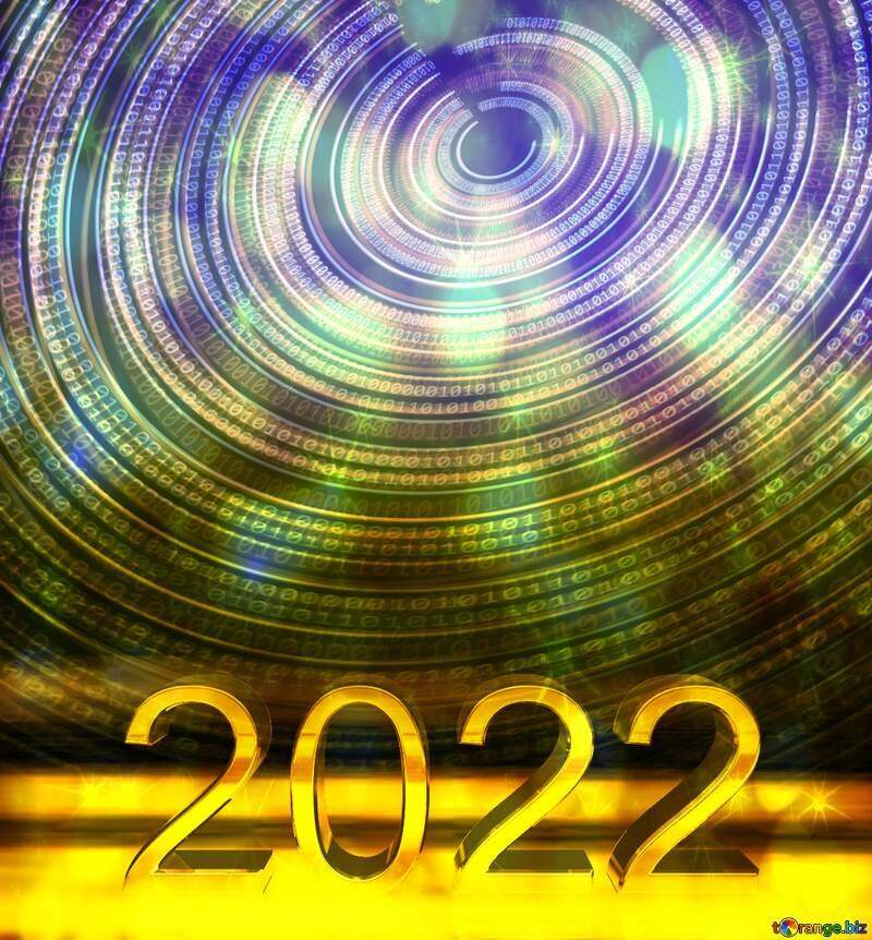 Digital Binary data. Futuristic infographic background 2021 №49672