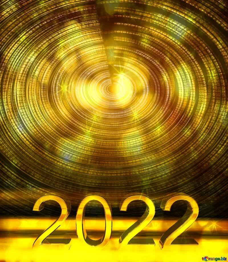 Digital world 2021  twinkling stars background №49672