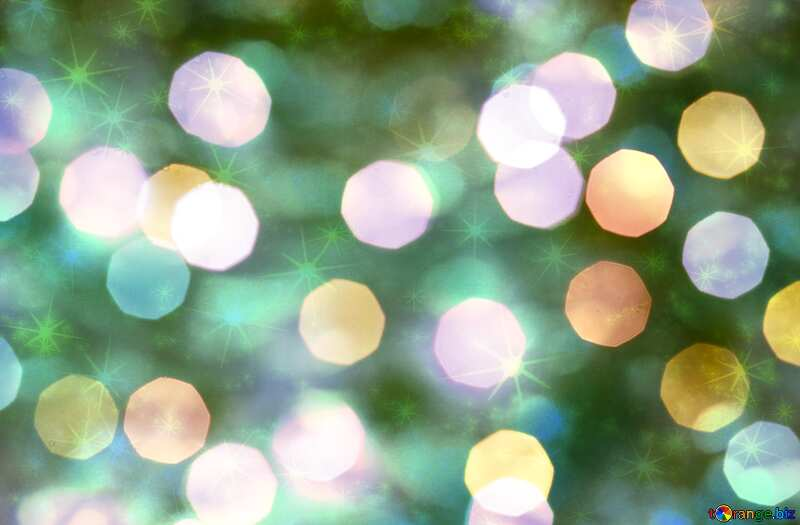Christmas lights  twinkling background №24617