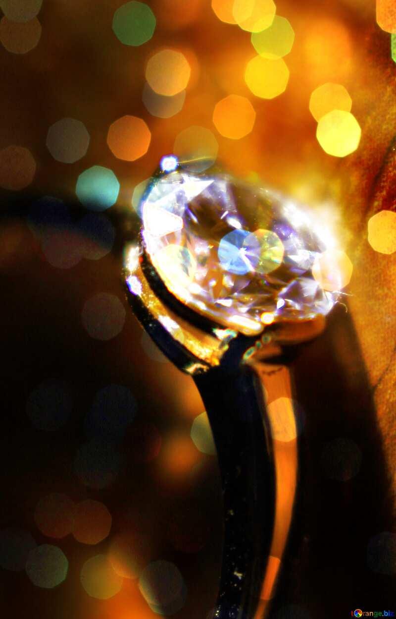 ring diamond №18587