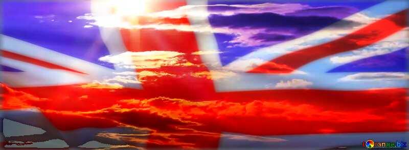 The summer sky United Kingdom flag №36525