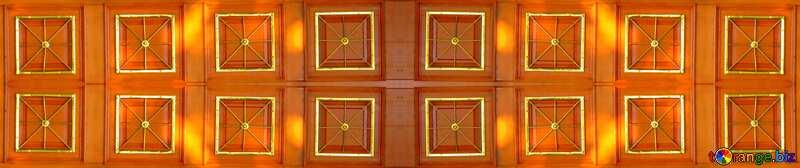 A brown paneled door pattern texture №53371