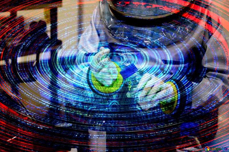 virus digital background №54575