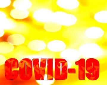 3d text Corona virus Covid-19 Coronavirus disease 2019 2020