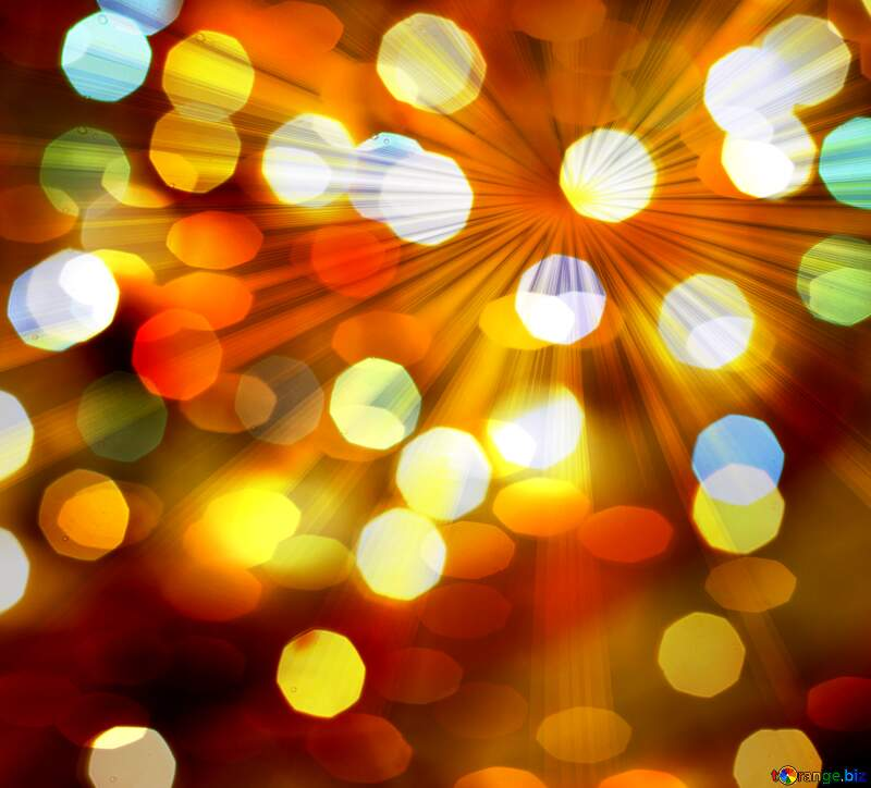 Christmas rays background №24617
