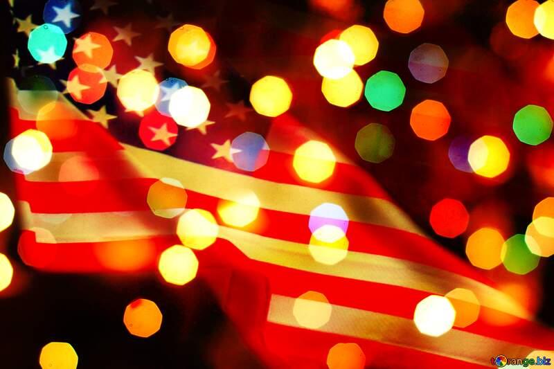 Christmas USA background №24617