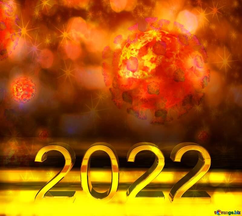 Corona virus 2022 Coronavirus dark background №54739