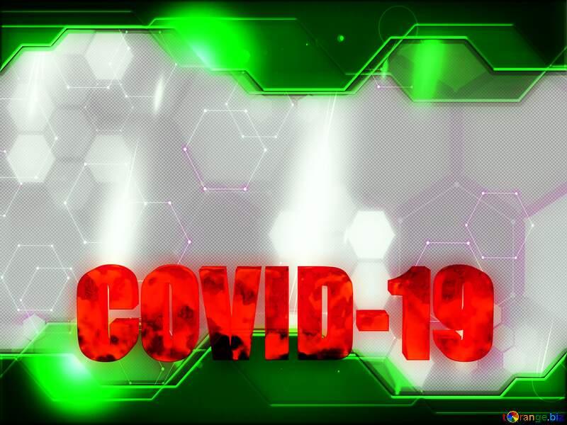 Tech background Corona virus Covid-19 Coronavirus disease 2019 2020 №54732