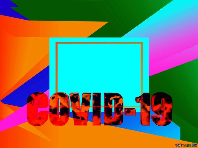 Art frame Corona virus Covid-19 Coronavirus disease 2019 2020 №54732