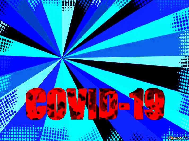 Blue rays Corona virus Covid-19 Coronavirus disease 2019 2020 №54732