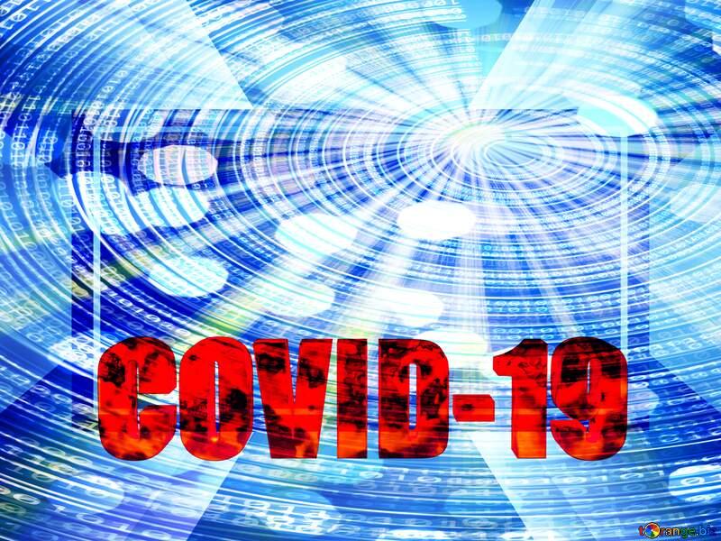 Digital template Corona virus Covid-19 Coronavirus disease 2019 2020 №54732
